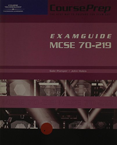 CoursePrep Examguide: Designing a Windows 2000 Directory Services Infrastructure 70-219: MCSE Exam: Designing a Microsoft Windows 2000 Directory Services Infrastructure por LANWrights LANWrights