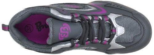 Bruetting Perfect Indoor 331017, Scarpe sportive indoor donna Grigio (Grau (grau/pink/silber))