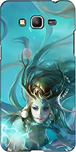 Instyler 3DSG_J7_VN-10123 Back Cover for Samsung Galaxy J7