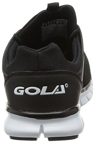 Gola Akita, Scarpe da Corsa Donna Nero (Black/white)