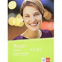 Jasno! A1-A2: Russisch für Anfänger. Arbeitsbuch mit Audio-CD
