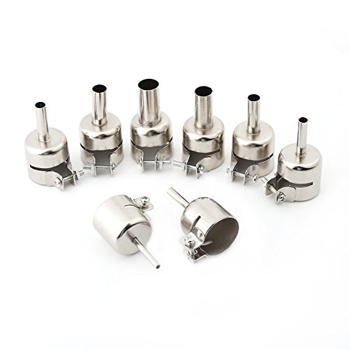 8 Teile/satz Heißluftpistole Düsen Kits Mundspitzen Für Heißluft Lötstation Reparatur-werkzeuge