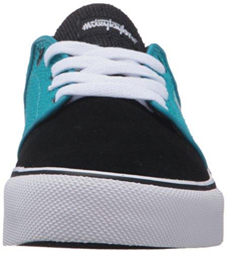 DC Men's Mikey Taylor Vulc Mikey Taylor Signature Skate Shoe, Burgundy, 10 M US Black/Ocean/White