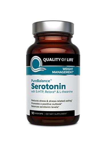 Pure 90 Cap (Pure Balance, Serotonin, 90 Veggie Caps - Mit 5-HTP, Relora & L-Theanin)