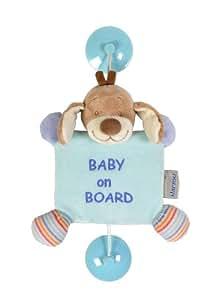 Nattou - Les Zamis - 455411 - Baby on Board Ventouse - Chien