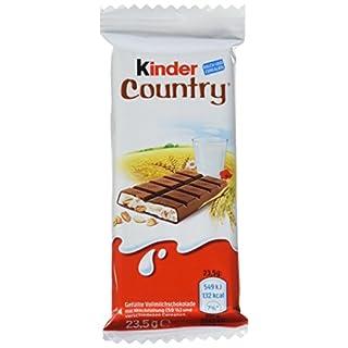 kinder Country Einzelriegel, 40er Pack (40 x 23,5 g Riegel)