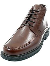 3475d6556e1 Bota baja hombre FLUCHOS - Piel con cordones disponible en Libano Marrón -  9485 2n2
