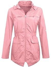 f5b17c490 Amazon.co.uk  Pink - Coats   Jackets   Girls  Clothing