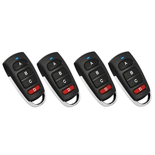 B-Blesiya-4-Piezas-43392-MHz-Mando-Distancia-Universal-para-Duplicar-con-Botones-para-Puertas-Ventanas-Elctricas