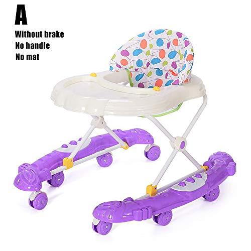 Niño del bebé Empuje lo Largo del Juguete, Prevención Rollover Deslizante Coche de bebé Empuje Walker...