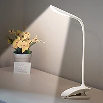 Leadleds Flexible Touch Switch Clip on Reading Light 3-levels ...