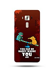 alDivo Premium Quality Printed Mobile Back Cover For Asus Zenfone 3 Deluxe ZS570KL / Asus Zenfone 3 Deluxe ZS570KL Printed Back Case Cover (MKD1052)