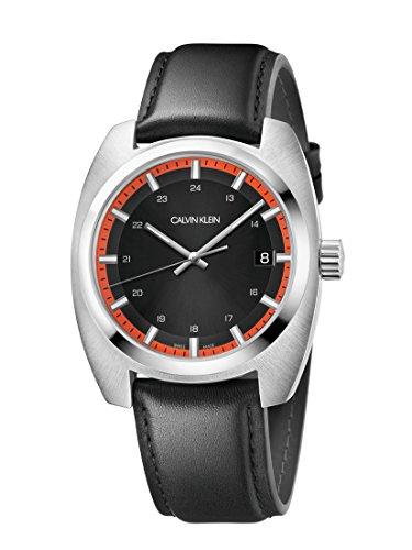Calvin Klein Reloj Analógico para Hombre de Cuarzo con Correa en Cuero K8W311C1