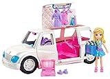 Polly Pocket Superlimusina de Polly, Juguetes coche de muñecas, +4 años (GDM19)