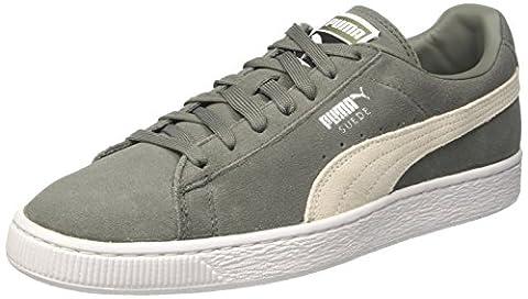 Puma Suede Classic +, Sneakers Basses Mixte Adulte, Vert (Agave Green-Puma White 07), 44 EU