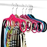 Multifunction Scarf Shawl Hanger/Organizer for Closet Protect Organize Scarves