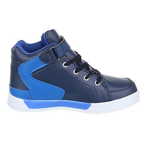 Chaussures pour enfants, 712–7, loisirs chaussures sneakers sportive Bleu - Bleu