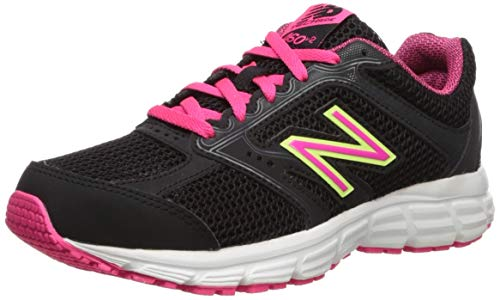 New Balance 460v2, Scarpe Running Donna, Nero (Black/Pink), 38 EU