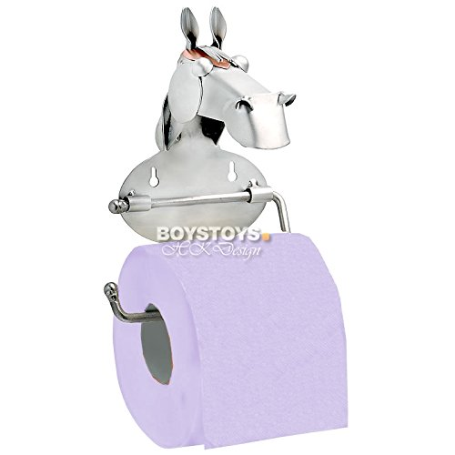Metall-ART Design Pferd Toilettenpapierhalter