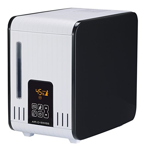Boneco S450 - Humidificador antibacteriano a vapor tibio difusor, 550 g/h, 160-480 W, 60 m²