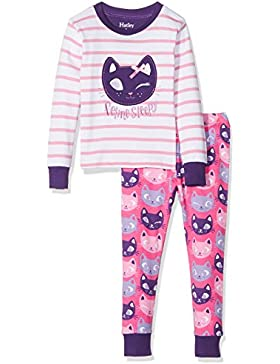 Hatley Mädchen Long Sleeve Appliqué Pyjama Sets