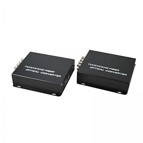 Convertitore segnale AHD/TVI/CVI - Fibra Ottica 8 Canali -