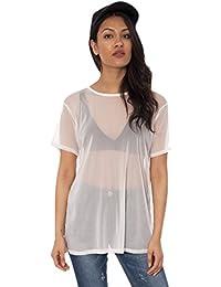 Rota Mujer Y Tops Amazon es Blusas Ropa Camisetas Fn577qY