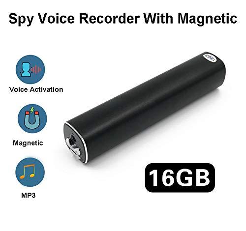 Grabadora voz espia magnético Grabador mp3 16g -