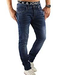 Jack & Jones Herren Jeans / Straight Fit Jeans jjiTim jjOriginal
