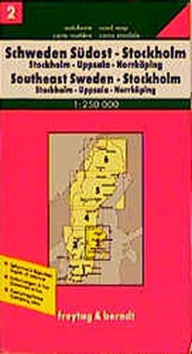 Freytag Berndt Autokarten, Schweden Südost, Stockholm (freytag & berndt Auto + Freizeitkarten): Alle Infos bei Amazon