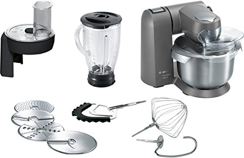 Bosch MUMXL40G 1600W 5.4L Black,Grey,Stainless steel food processor - food...