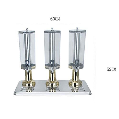 CASILE Bierspender ABS Edelstahlhahn Bier Tower Spender Mit Eisrohr aus Edelstahl Gesundheit und Sicherheit für Partys und Barbecues (Kalte Getränke Tower)