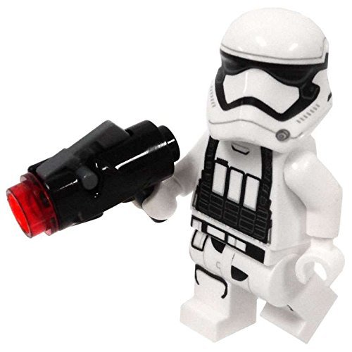 LEGO Star Wars: The Force Awakens - First Order Heavy Artillery Stormtrooper Minifigure with blaster by LEGO (Stormtrooper Star Wars Spielzeug Blaster)