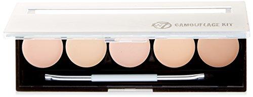 w7 Camouflage - Make up palette tein tkorrektur und abdeckung von augenringen, 1er Pack (1 x 40 g)