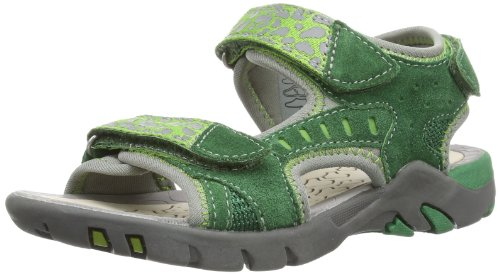 Lurchi Tim, Scarpe con plateau bambino, Verde (Grün (dk.green)), 28