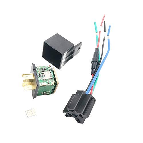 1 Unze Unterstützt (Docooler GPS-Tracker Abgeschnittenes Öl-Stromversorgungssystem Auto-Tracking-Relais GPS-Tracker-Gerät GSM Locator Fernbedienung Diebstahlschutzüberwachung Abschalten des Öl-Stromversorgungssystems)