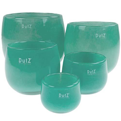 Preisvergleich Produktbild Dutz Collection Vase Pot Farbe Jade,  Größe:H7 / D10 cm