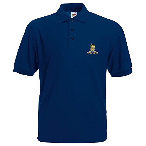 Royal Army Pay Corps bestickt Polo Navy