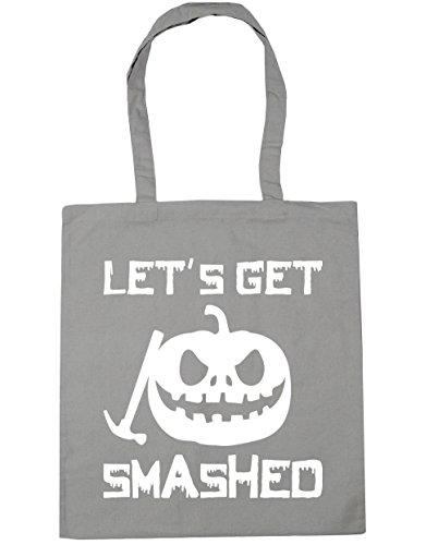 men Strandtasche Gr. Einheitsgröße, hellgrau (Halloween-humor Tumblr)