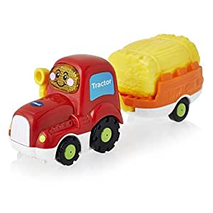 VTech Toot Toot Drivers Tractor wirh Trailer