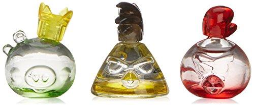 ANGRY BIRDS Coffret Cadeau Miniatures 3 Minis + 2 Badges