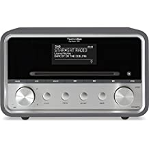 TechniSat DIGITRADIO 580 / Digital-Radio mit CD-Player, DAB+, UKW, Internetradio, Multiroom-Streaming, Spotify Connect, Bluetooth, USB, anthrazit