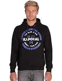 Kaporal - Sweat à Capuche avec Inscription en Relief - Goslo - Homme