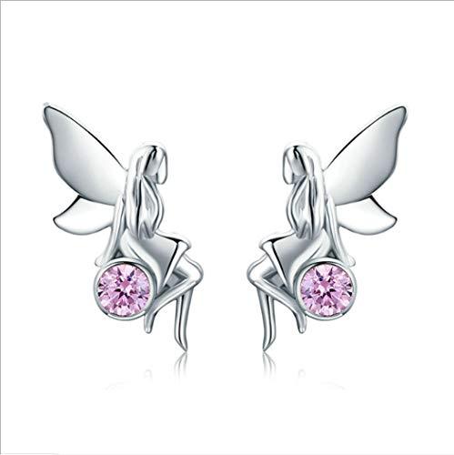 YOYOYAYA S 925 Silber Ohrringe Weiblich Ornamente Mädchen Simple Baitao Quasten Ohrringe Parteien Termine Anhänger Elfen