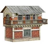 Comparador de precios Keranova keranova2991: 87Escala 12x 7x 10cm Clever Papel Tren colección Edificios Control Post 3D Puzzle - precios baratos