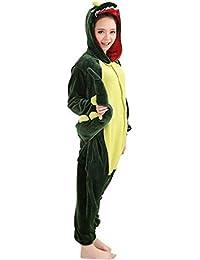 WOWcos® Pijama para adultos unisex, diseño de Pikachu