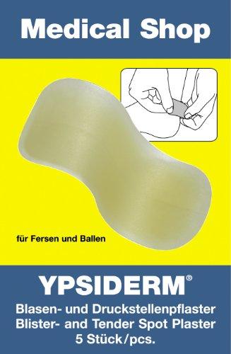 10 x YPSIDERM® Blasenpflaster 5 Stück Ferse + Ballen