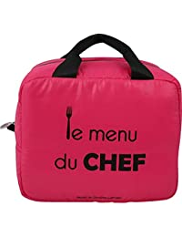 Caroline Lisfranc - Sac menu du chef rose