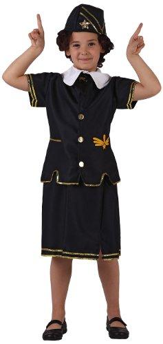 Atosa - Disfraz de policía para niña, talla 4 años (8422259063674)