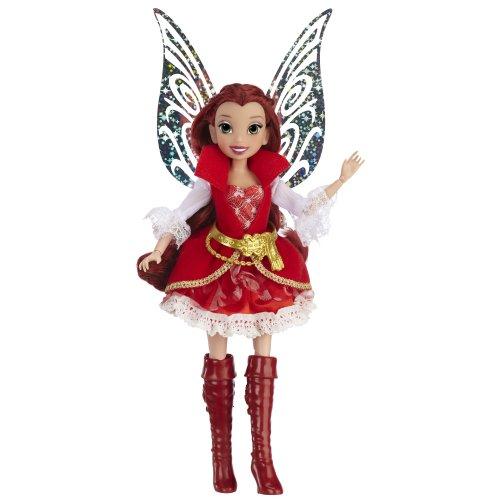 Jakks Pacific - Disney Fairies Deluxe Fashion Rosetta - 23cm Puppe [UK (Disney Rosetta)